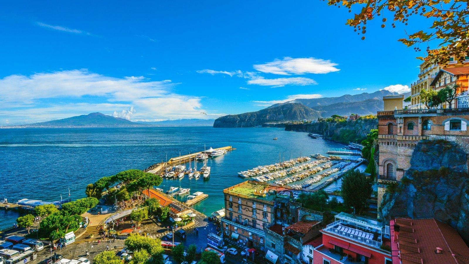 Vistas de Sorrento, en la Costa Amalfitana.