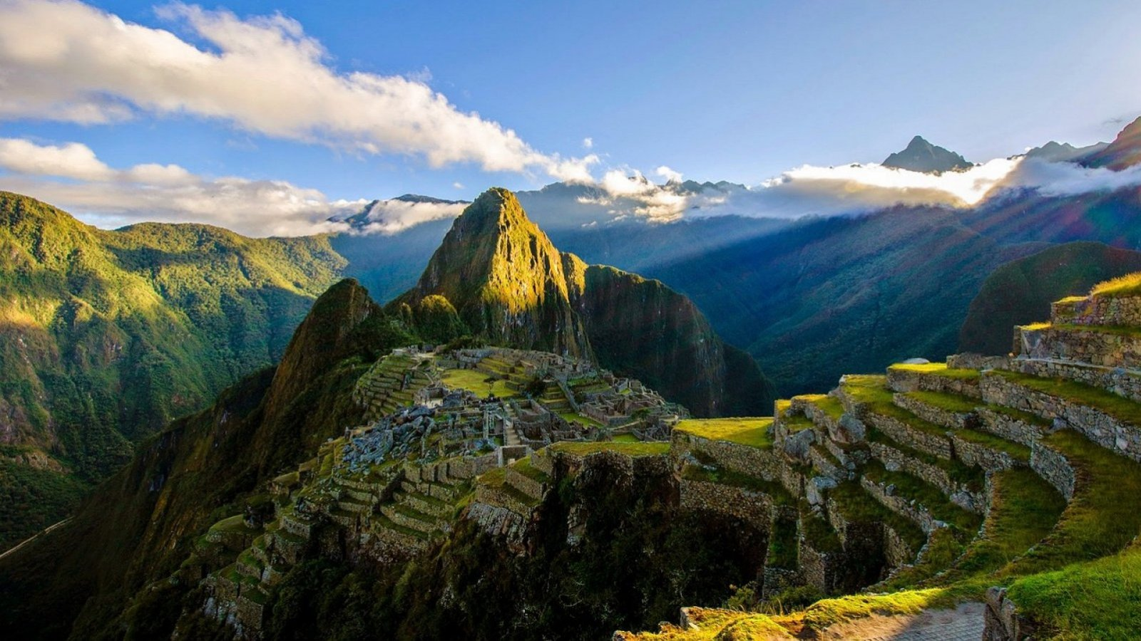 Vistas del Machu Picchu, en Perú.