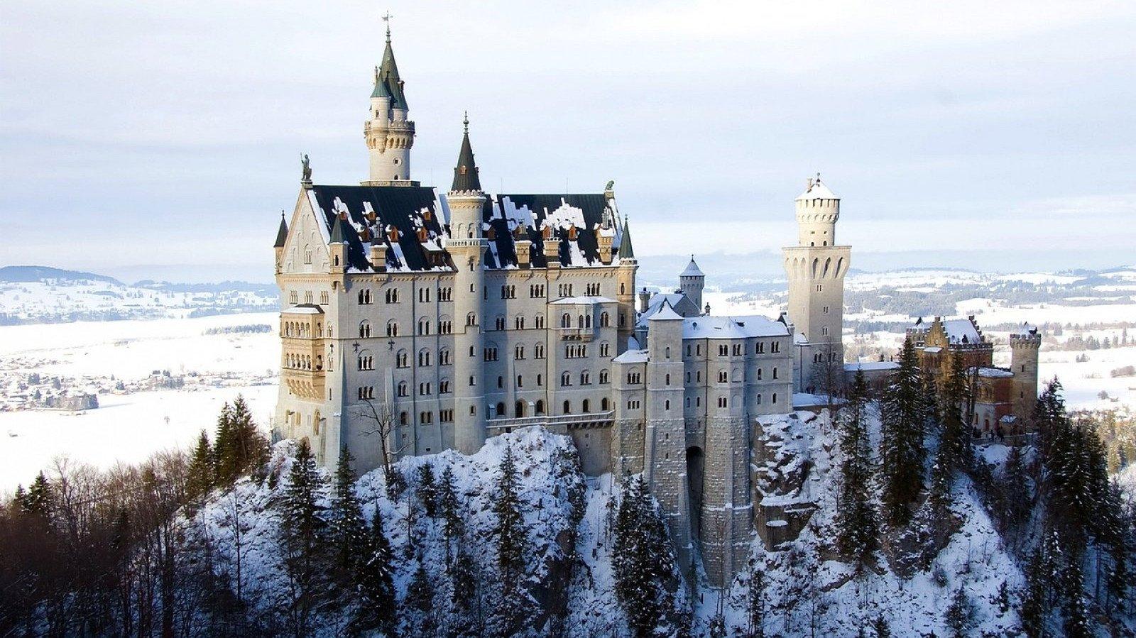 El precioso castillo de Neuschwanstein.