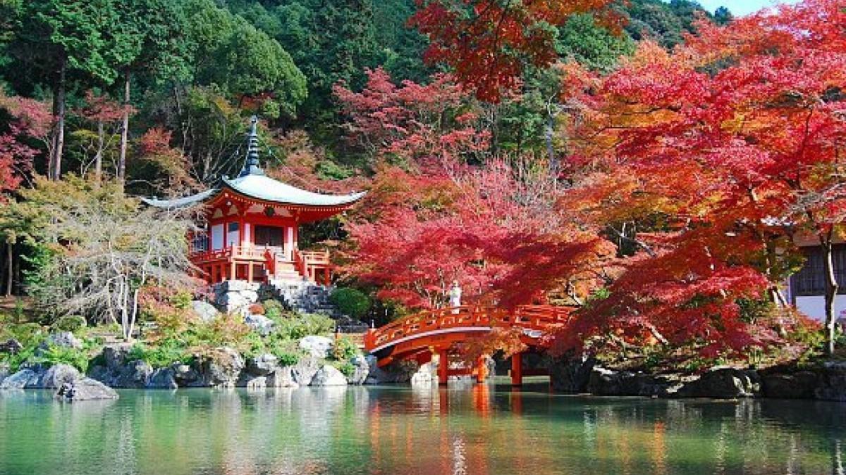 El templo Daigo-ji es un lugar imprescindible en Kioto.