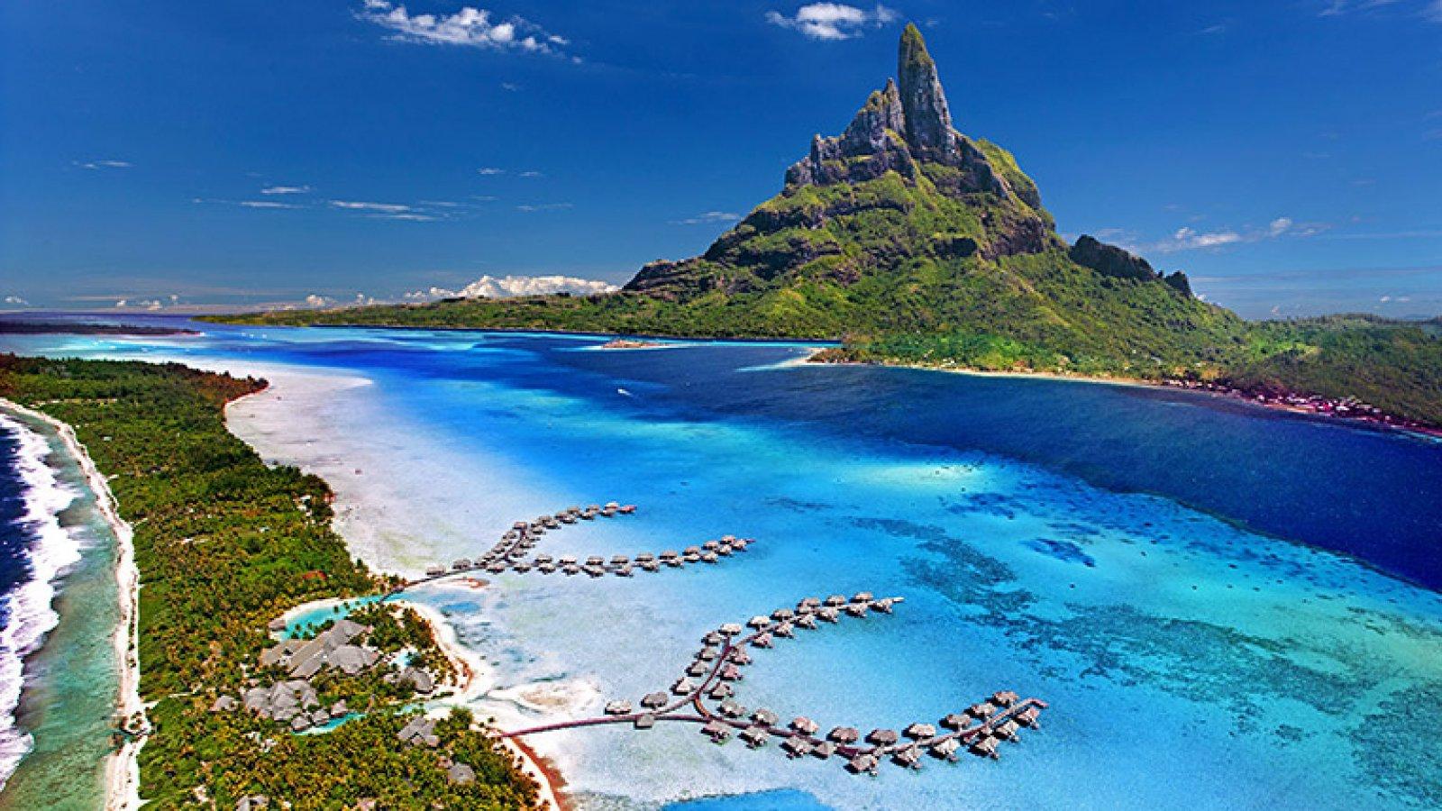 Isla de Bora Bora, en la Polinesia francesa.