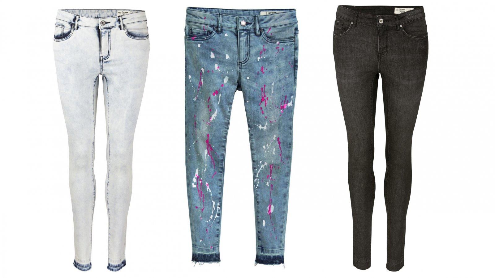Algunos pantalones vaqueros que estarán a la venta en Lidl por 14,90 euros