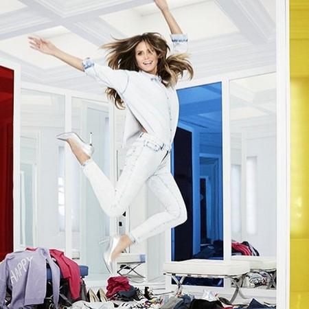 Imagen de la campaña promocional de la nueva colección de Lidl con Heidi Klum