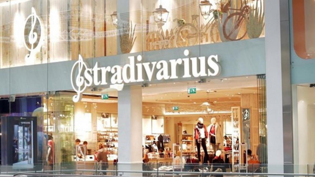 Una de las tiendas de Stradivarius.