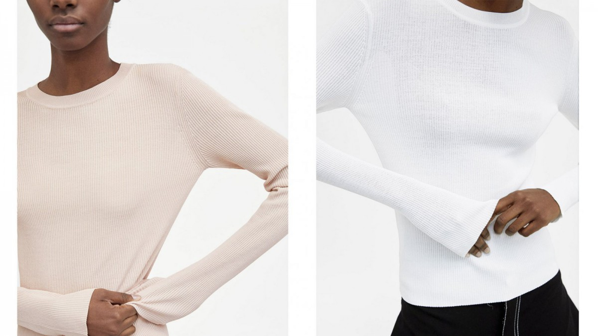 Top Rib Minimal Collection de Zara, por 25,95 euros