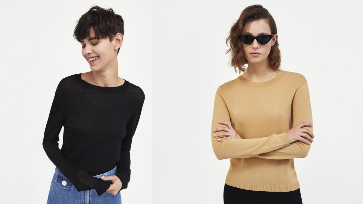 Jersey Minimal Collection de Zara, por 25,95 euros.