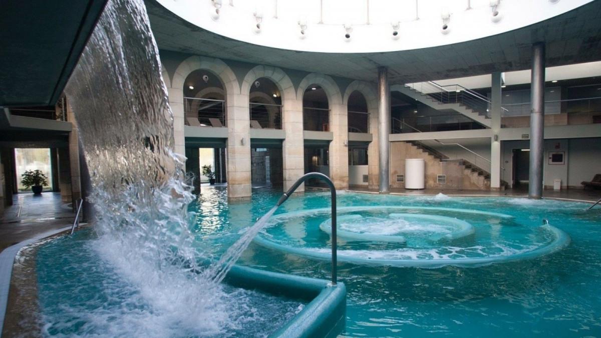 Algunos de los mejores balnearios del país se encuentran en Galicia.