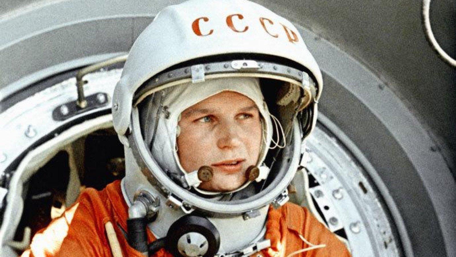 Valentina Tereshkova, la primera mujer en volar al espacio.