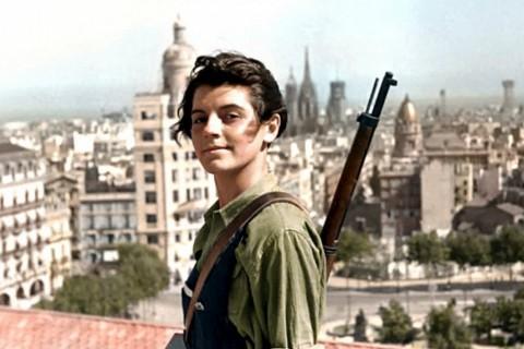 Maria Ginestà, icónica miliciana comunista.
