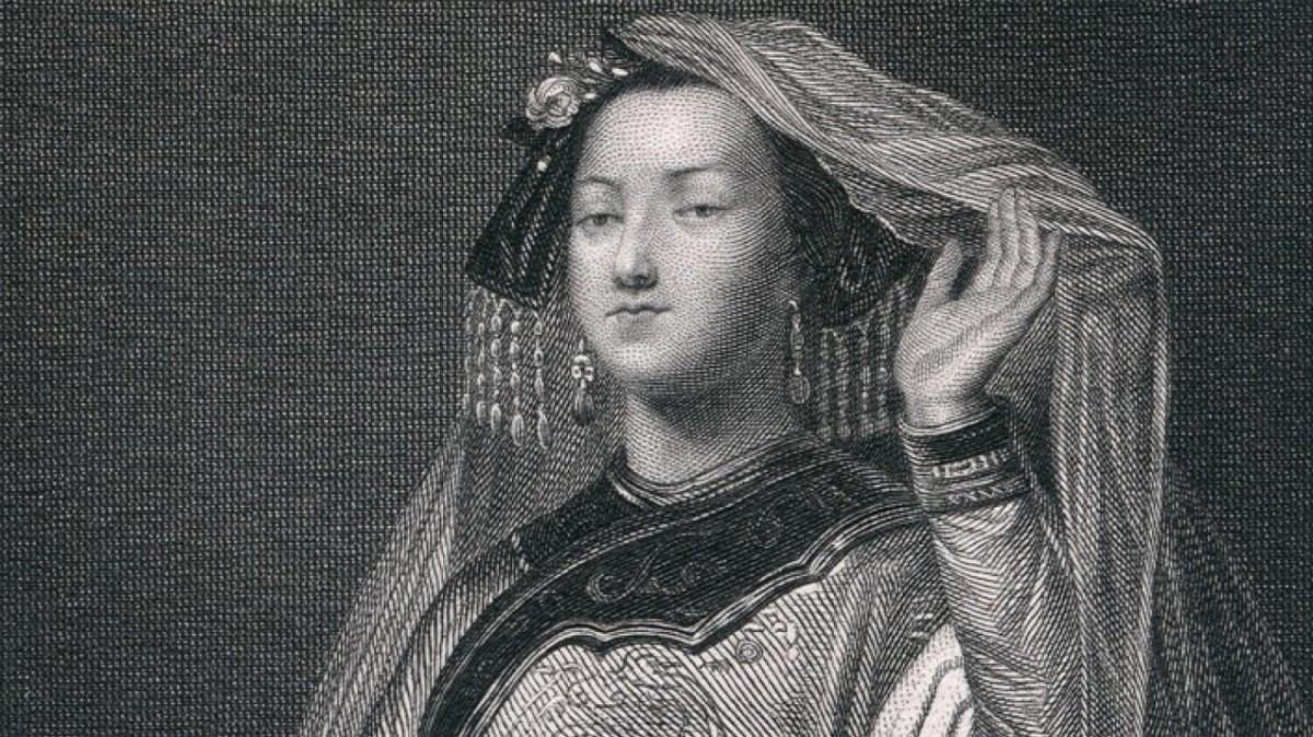 Grabado de Turandot, basada en Khutulun, de Georg Franz Jaquemot.