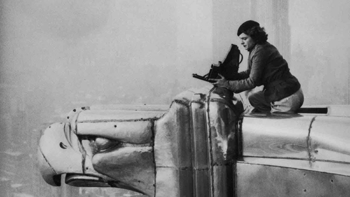 Margaret Bourke-White, primera corresponsal de guerra.