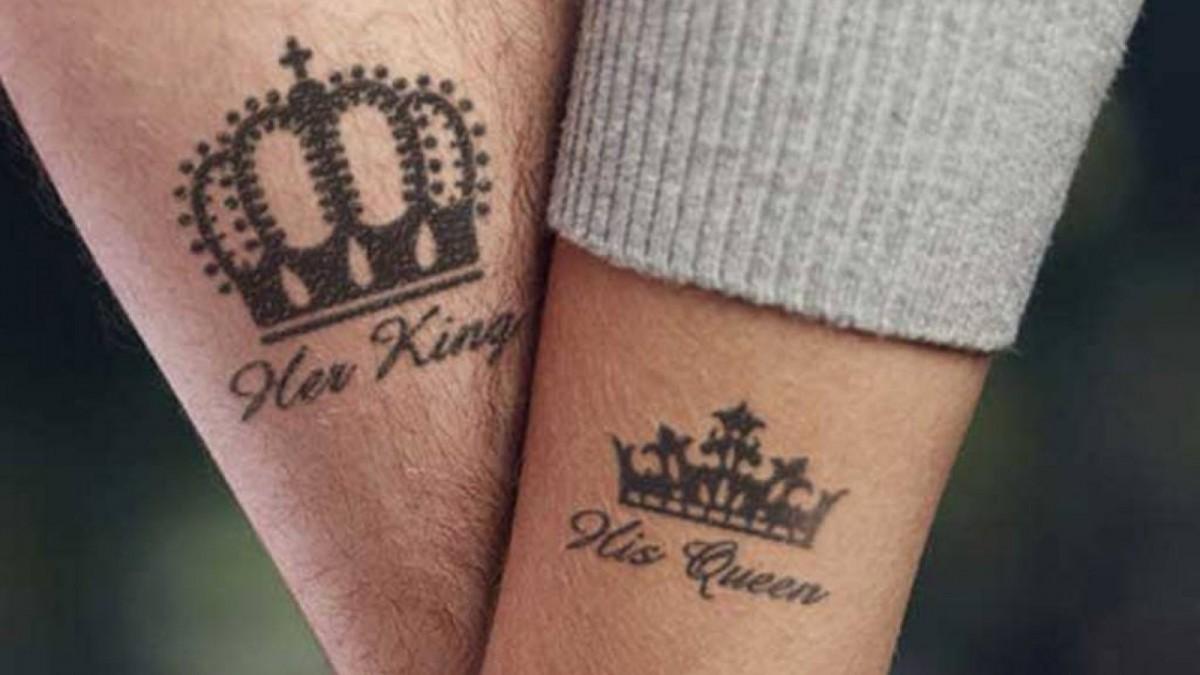Tatuajes para un rey y su reina.