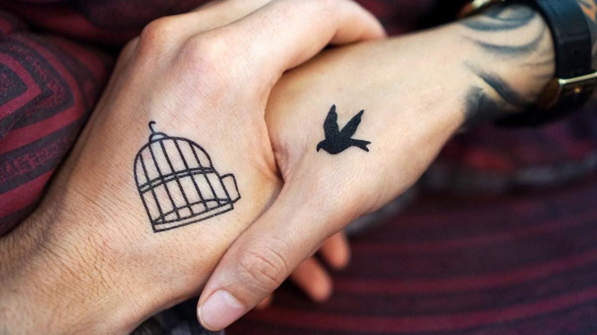 ad84462f5 Tatuajes para parejas  19 diseños ideales para compartir