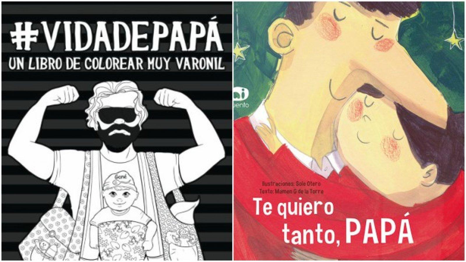 Libros ideales para papás primerizos o con niños pequeños.