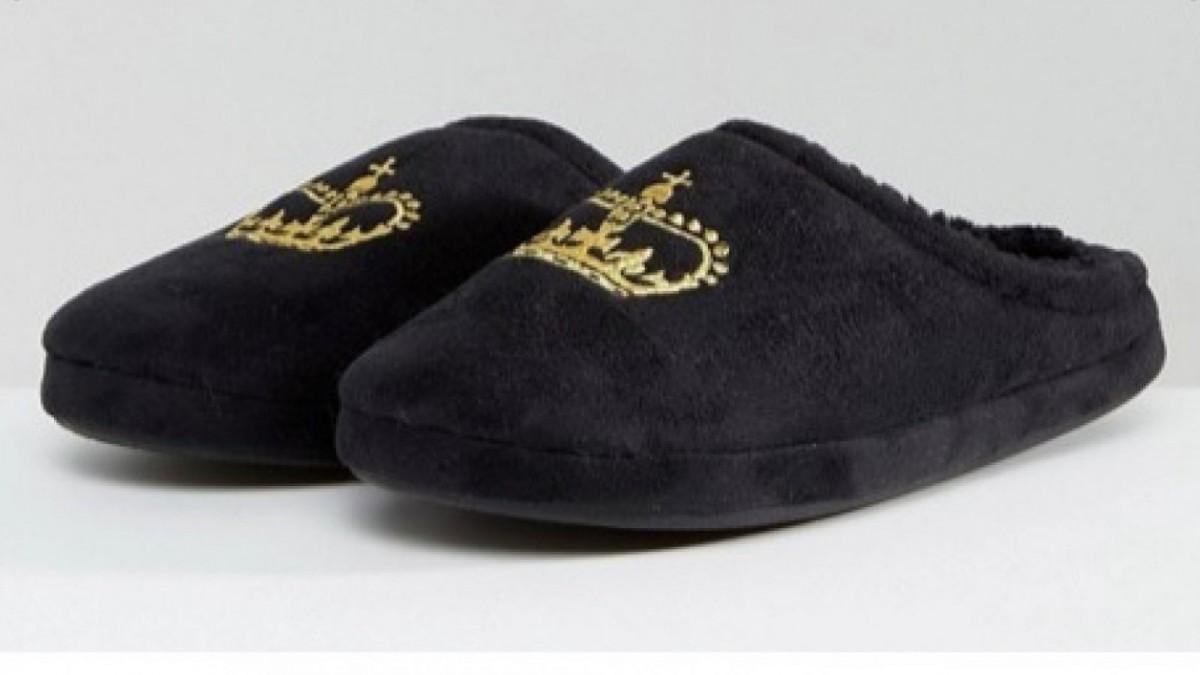 Hazle saber que es el rey de la casa con estas zapatillas.