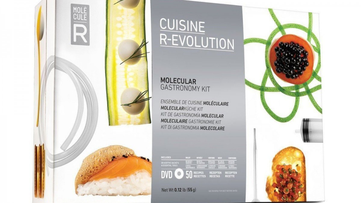 Sorpréndele con este original kit de cocina molecular.