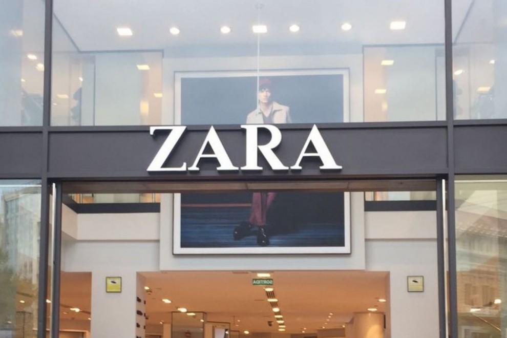 Una de las tiendas de Zara.