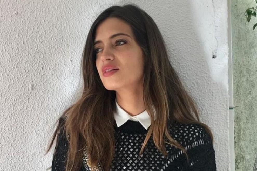 Sara Carbonero en Instagram con un jersey de Mango