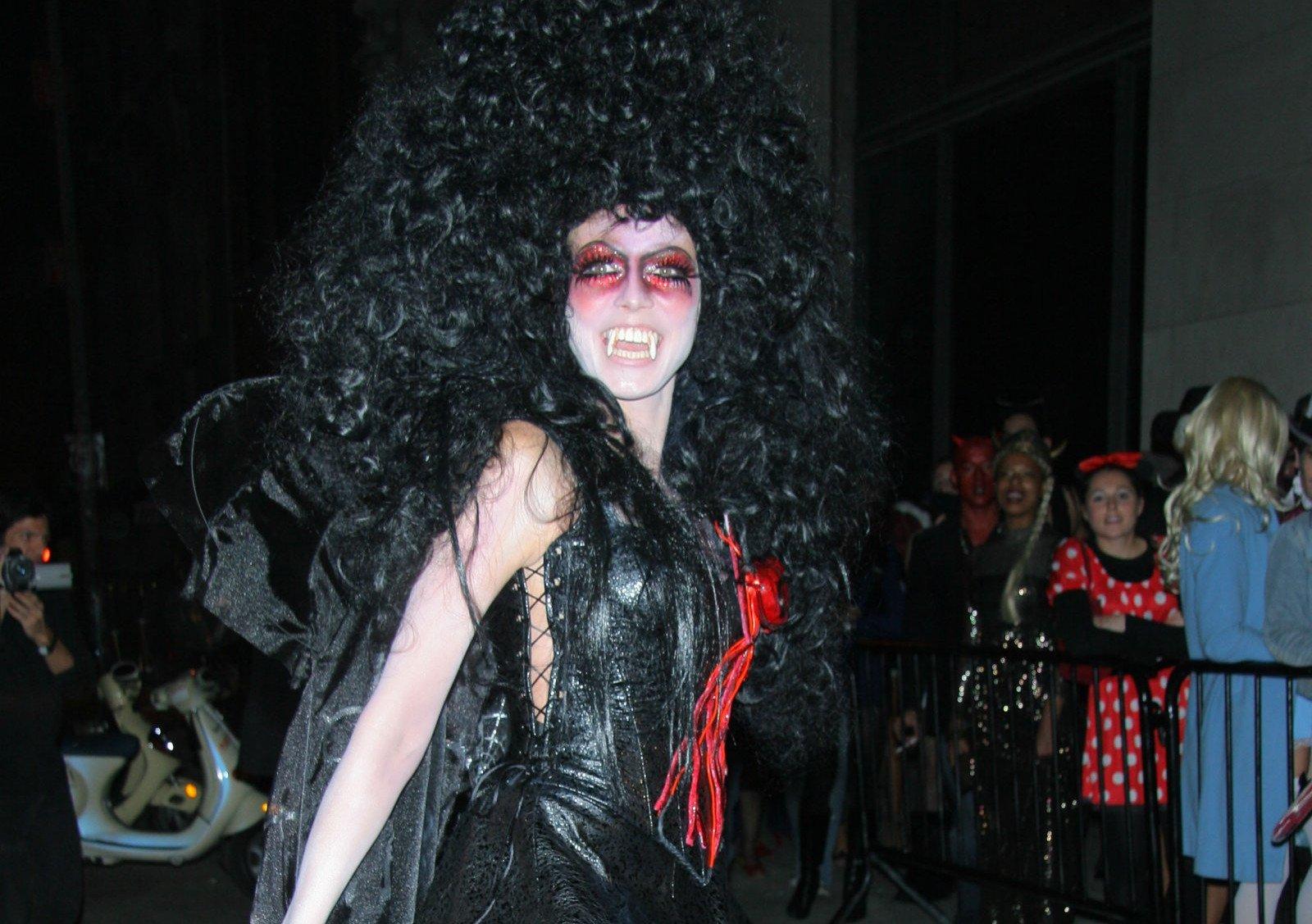 Heidi Klum como vampiresa