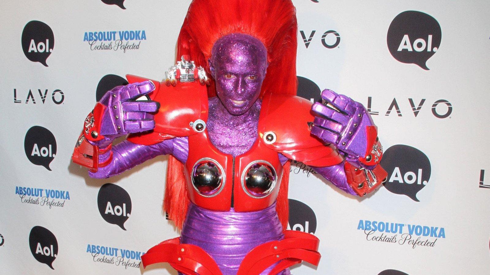 Heidi Klum como Transformer