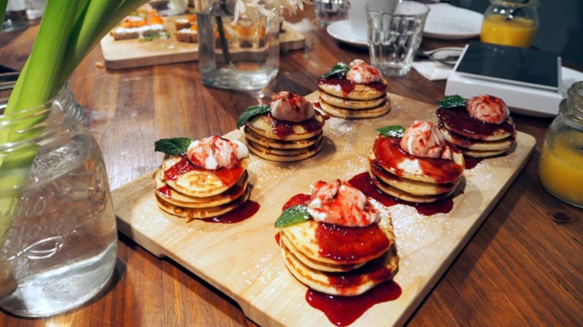 Pancakes del Picnic, en Barcelona.