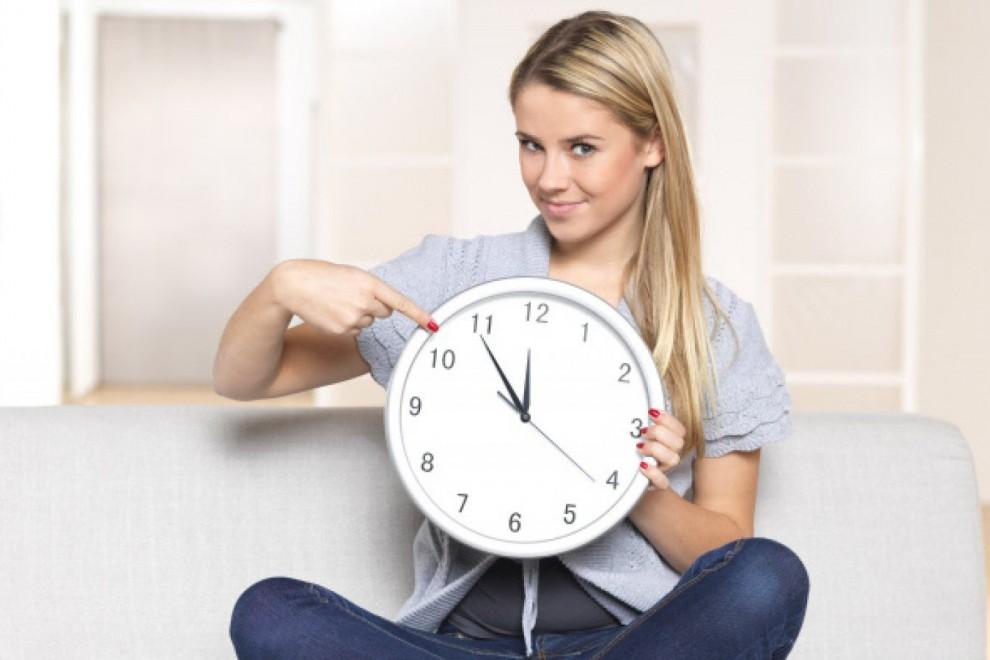 Los horarios de nuestras actividades vienen marcados por el reloj biológico.