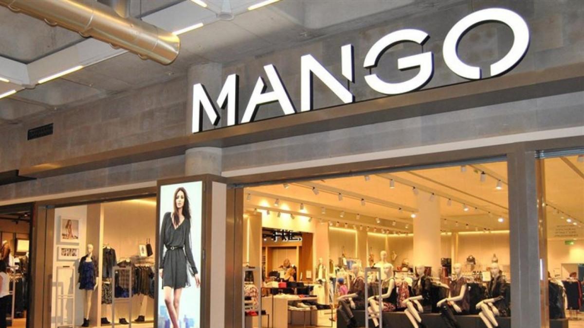 Imagen de archivo de un tienda de la firma de moda española Mango