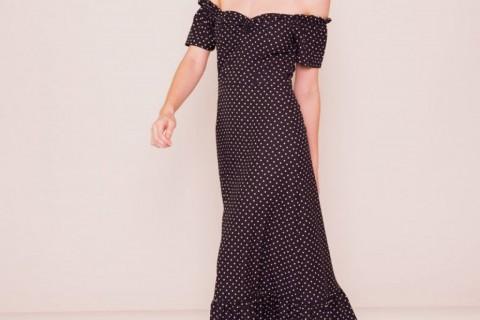 Vestido de lunares de Slow Love, por 59 euros