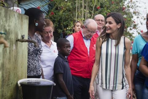 La reina Letizia en su viaje oficial a la República Dominicana