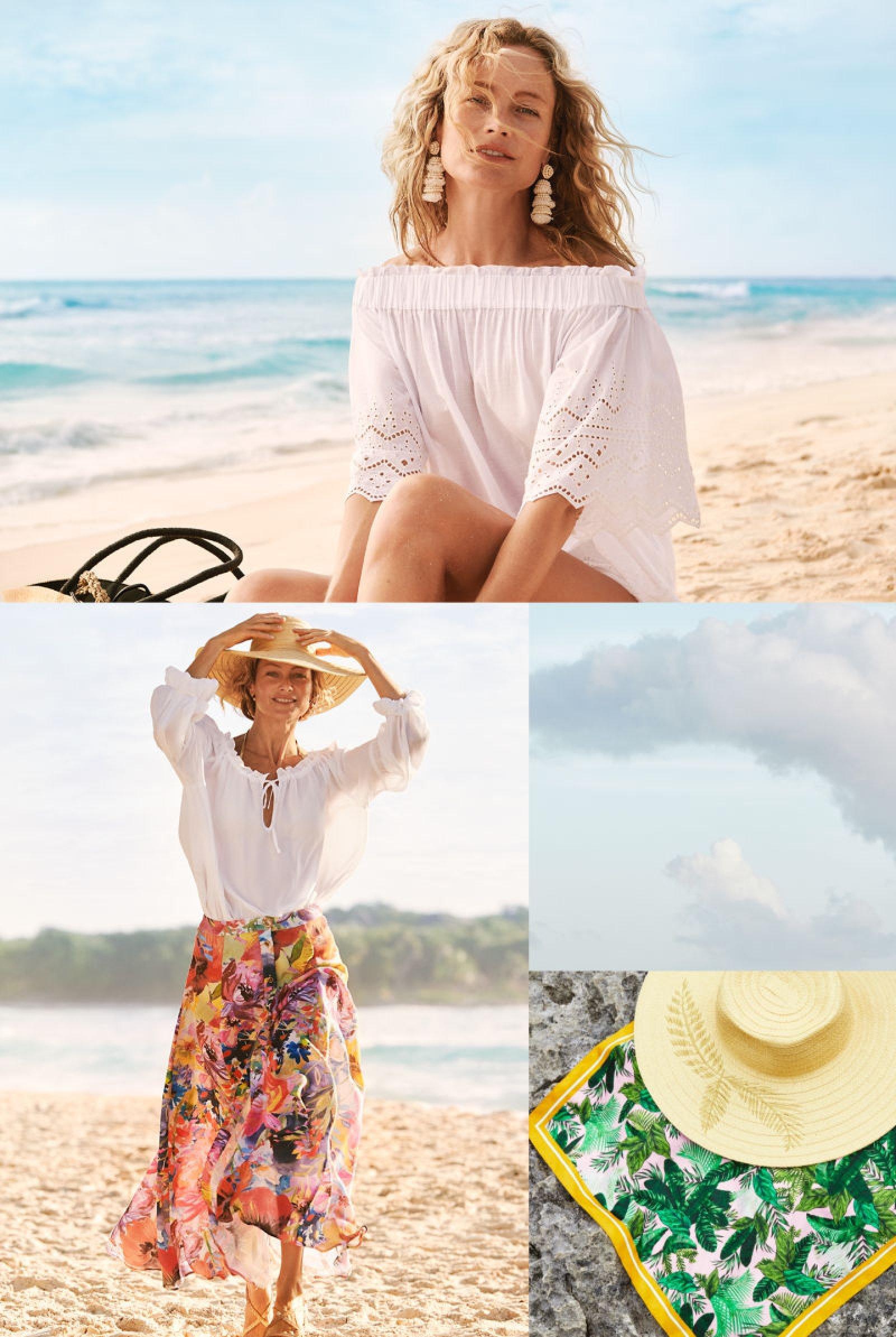 Estampados florales inundan el verano con 'Under the sun' de H&M