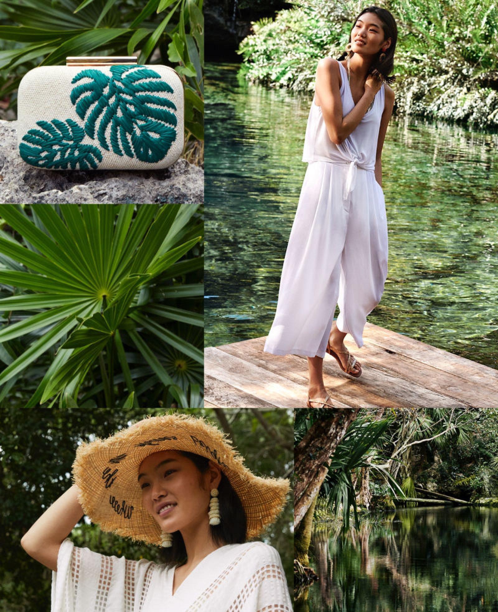 Prendas vaporosas en color blanco llegan a 'Under the sun' de H&M