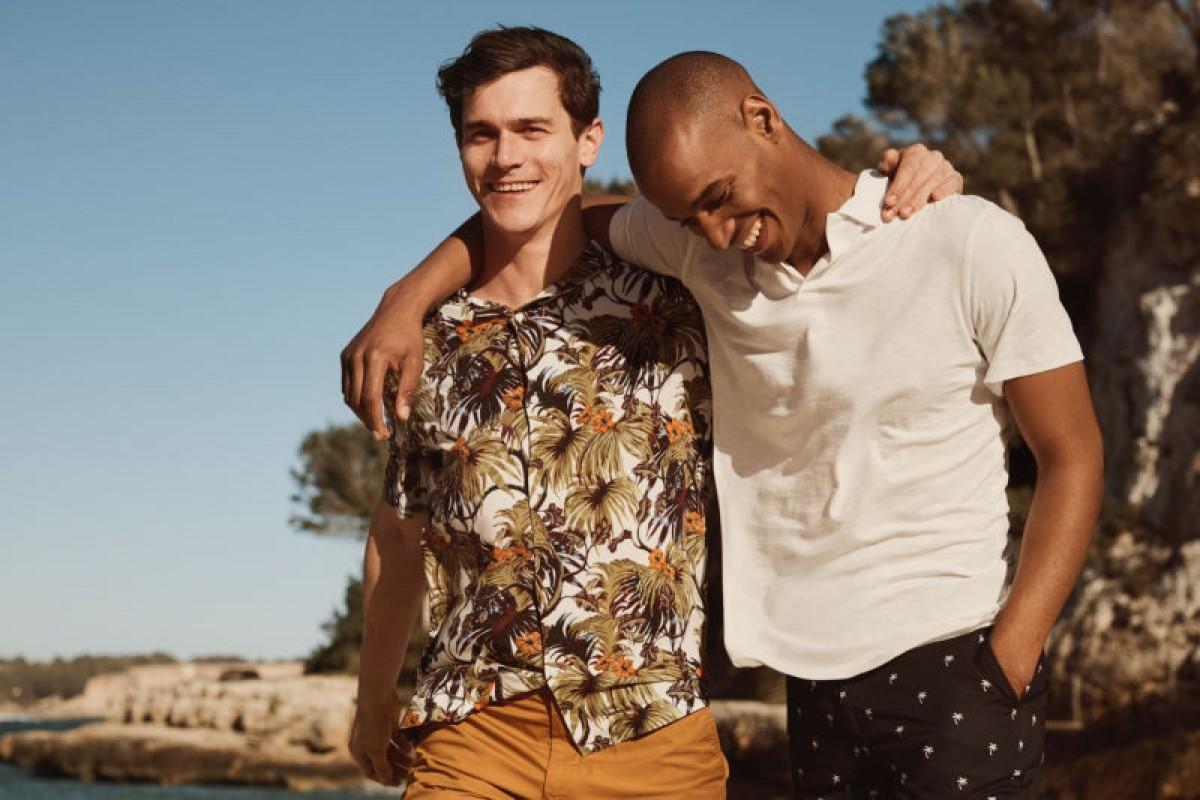 Algunas de las prendas de la línea masculina de H&M