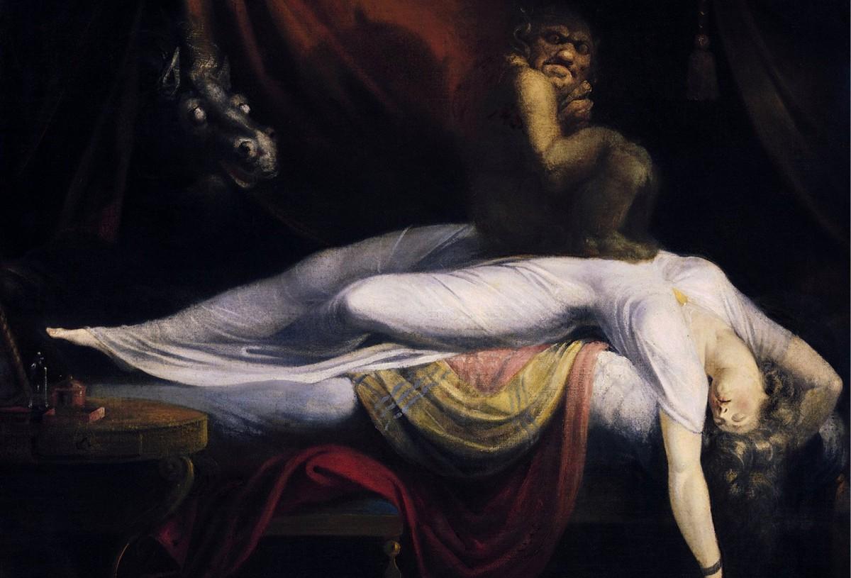La pesadilla, o El íncubo, es un cuadro de Johann Heinrich Füssli que alegoriza este trastorno.