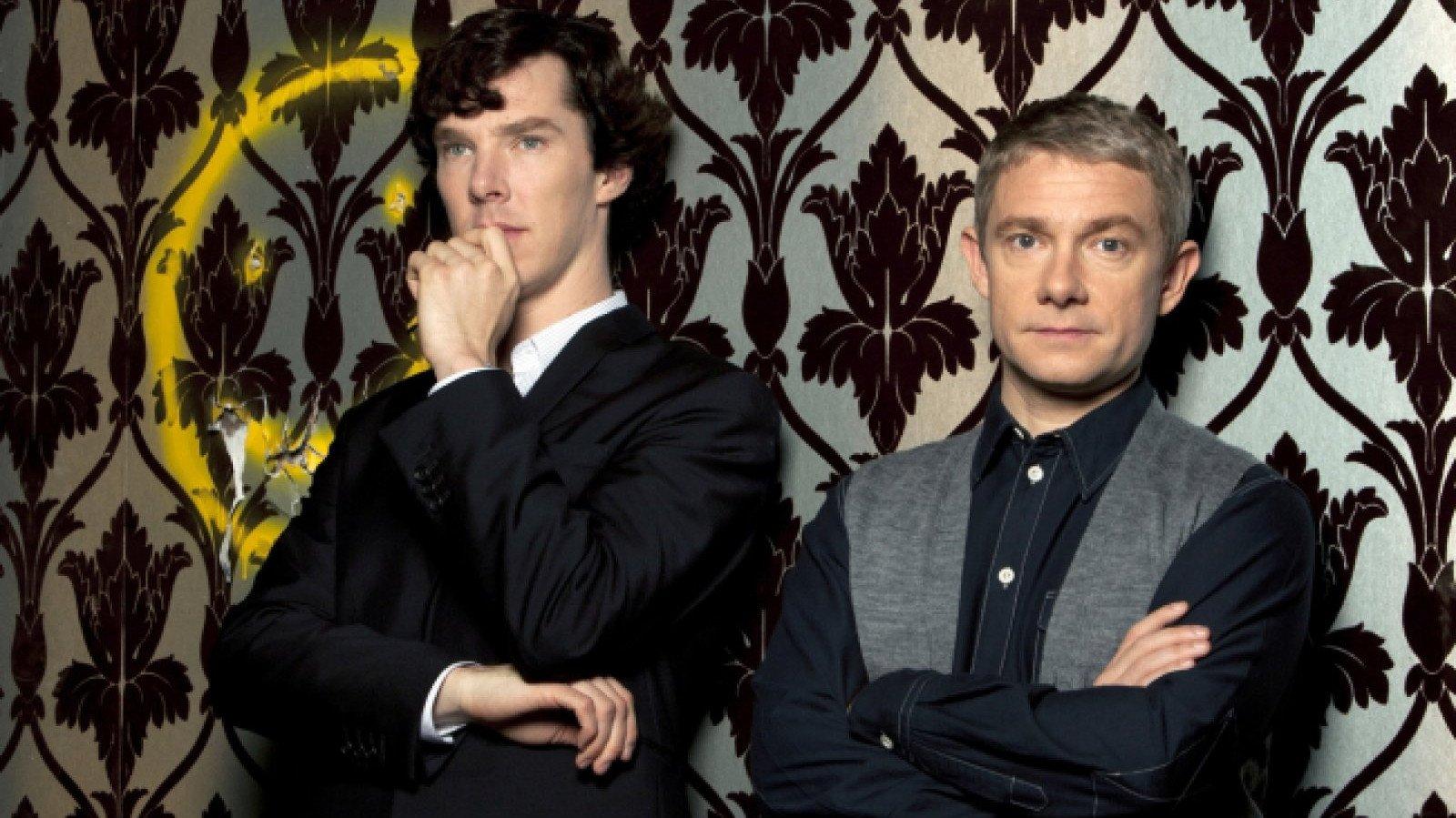 Sherlock, una de las series de más éxito de la BBC