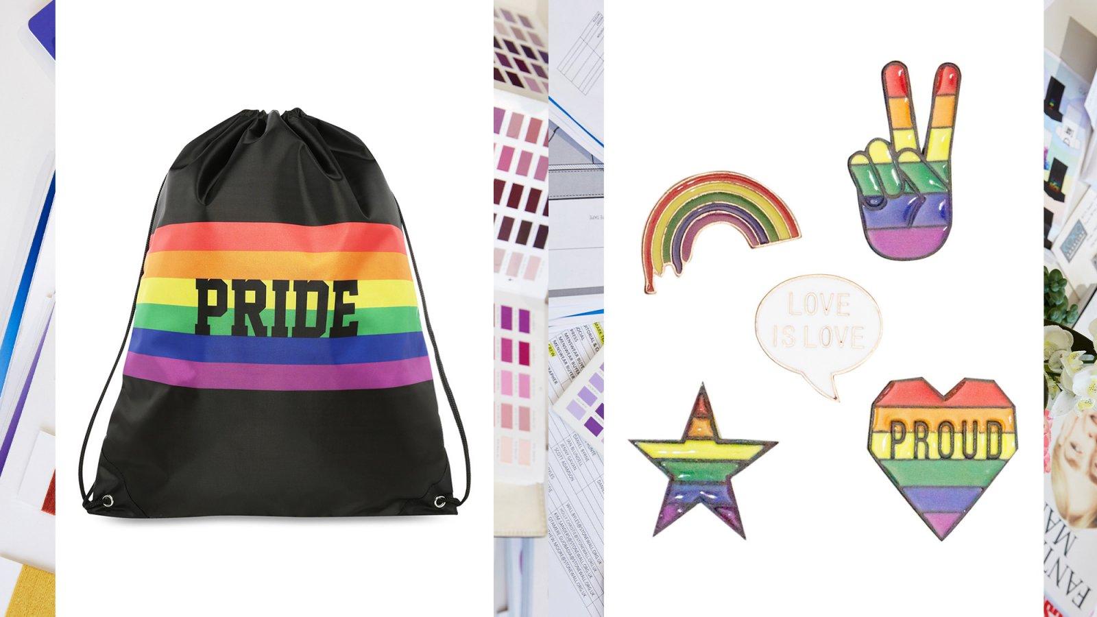 Algunos de los accesorios que se pueden encontrar en la colección de Primark 'Orgullo 2018'