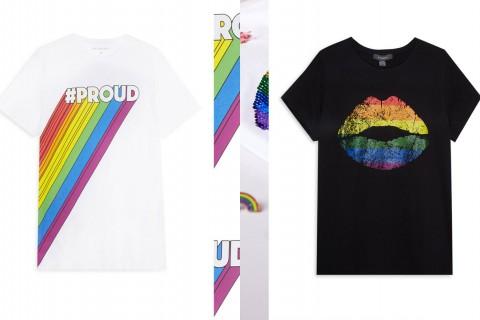 Dos de las diversas camisetas que completan la colección de Primark 'Orgullo 2018'
