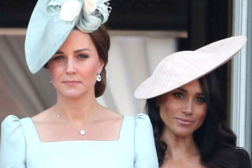 Kate Middleton y Meghan Markle en el tradicional 'Trooping The Colours'