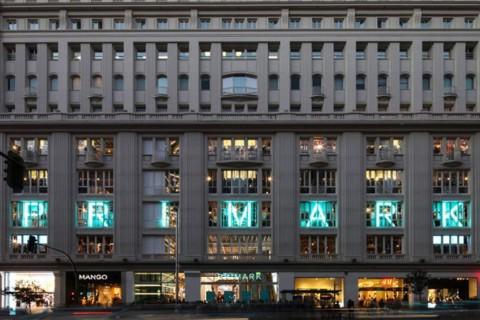 Imagen del Primark de la calle de Gran Vía de Madrid.