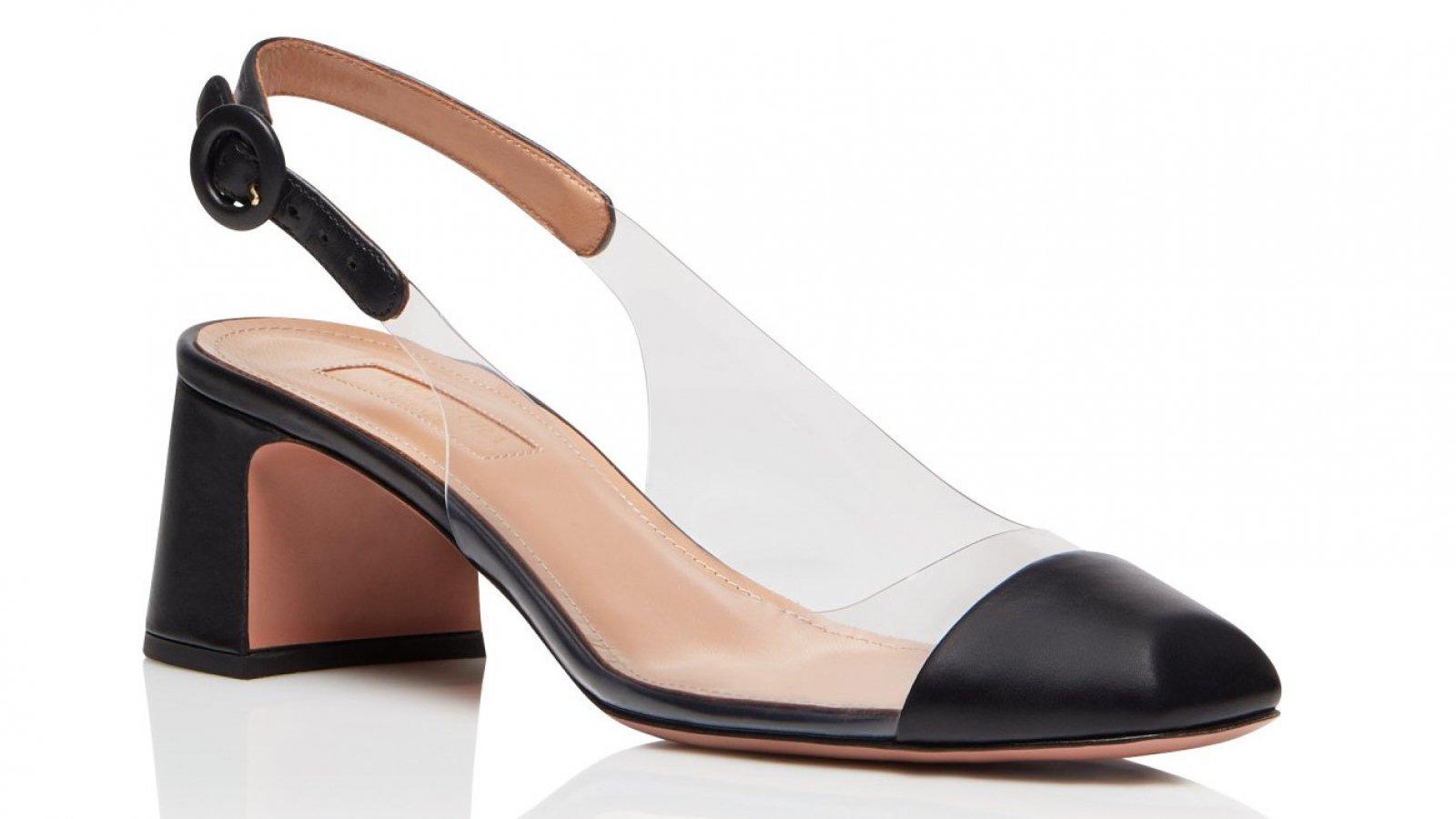 El zapato 'Optic Pump 50' de Aquazzura por 550 euros.