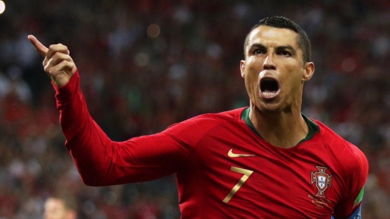 El portugués se considera uno de los mejores jugadores, y de los más sexys.
