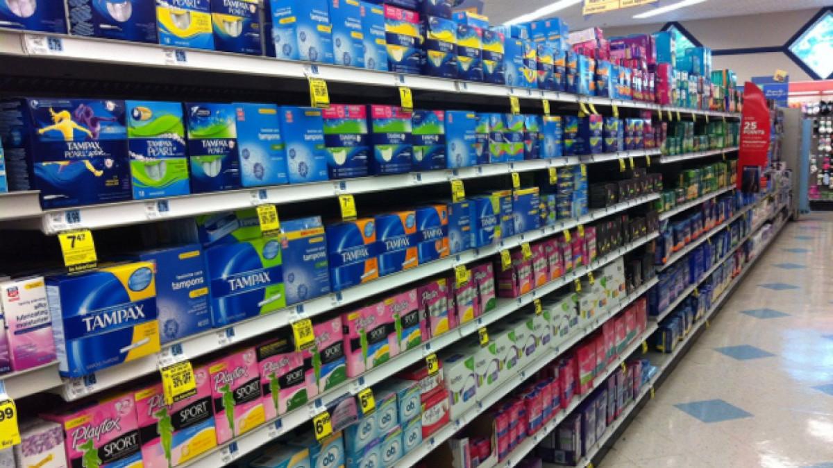 El IVA en los artículos de higiene femenina es del 10% en España.