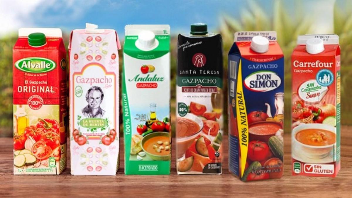 La OCU ha analizado hasta 43 productos diferentes de gazpacho.