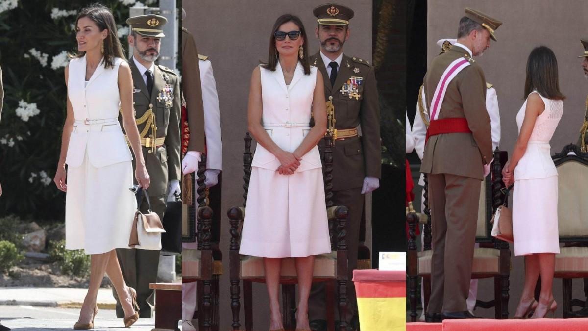 El estilismo elegido de la reina Letizia para reconciliarse con Felipe Varela