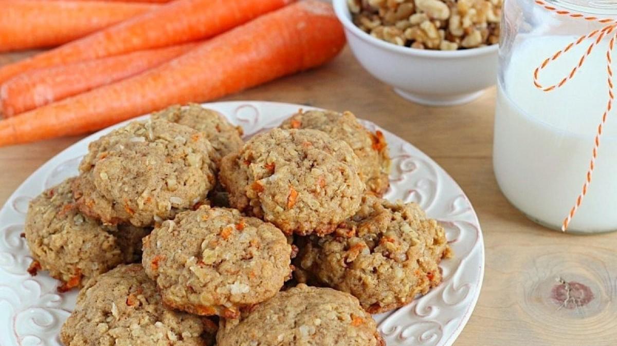 Estas galletas son ideales para los amantes del popular carrot cake.