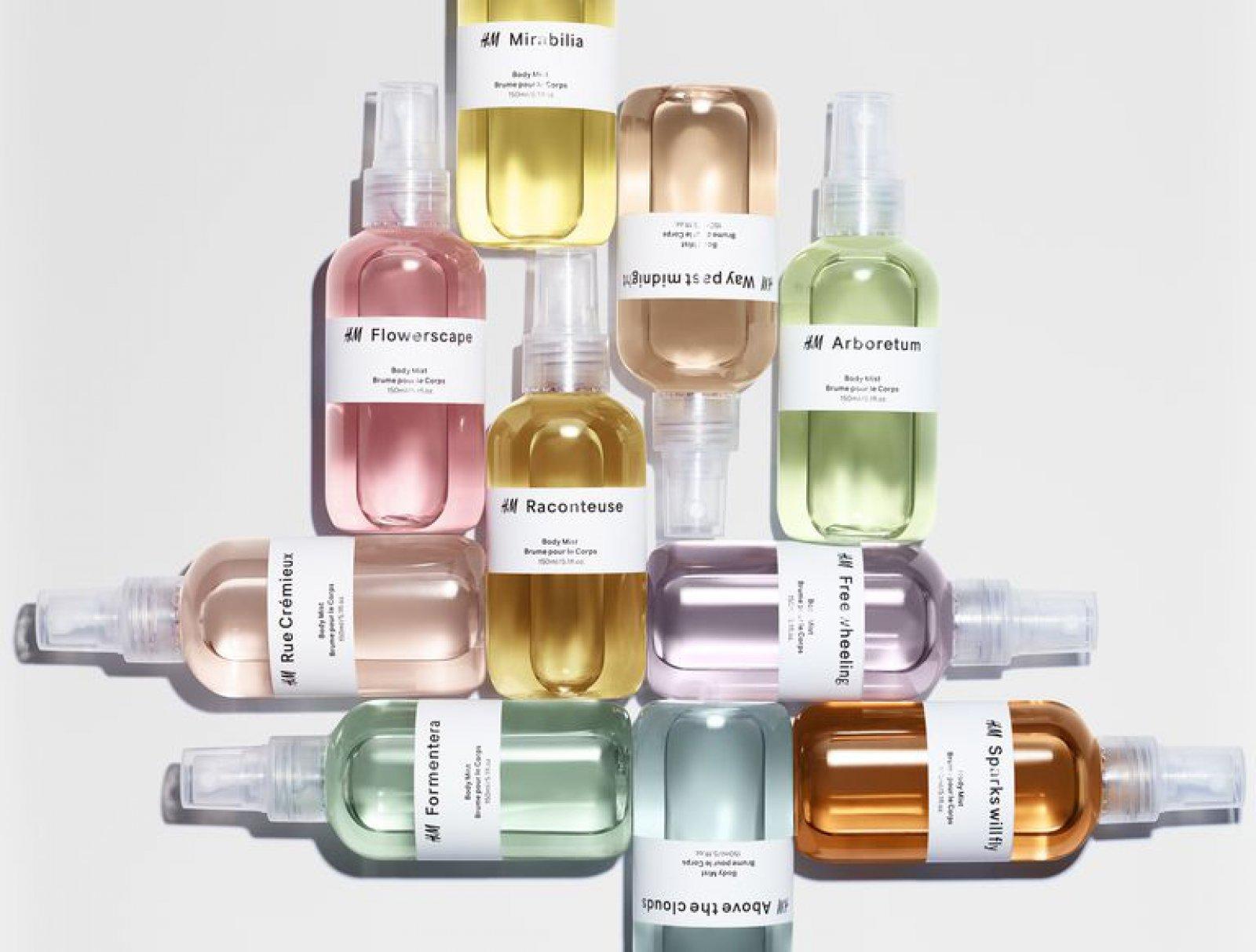 'The Reveries' una de las colecciones de fragancias de H&M