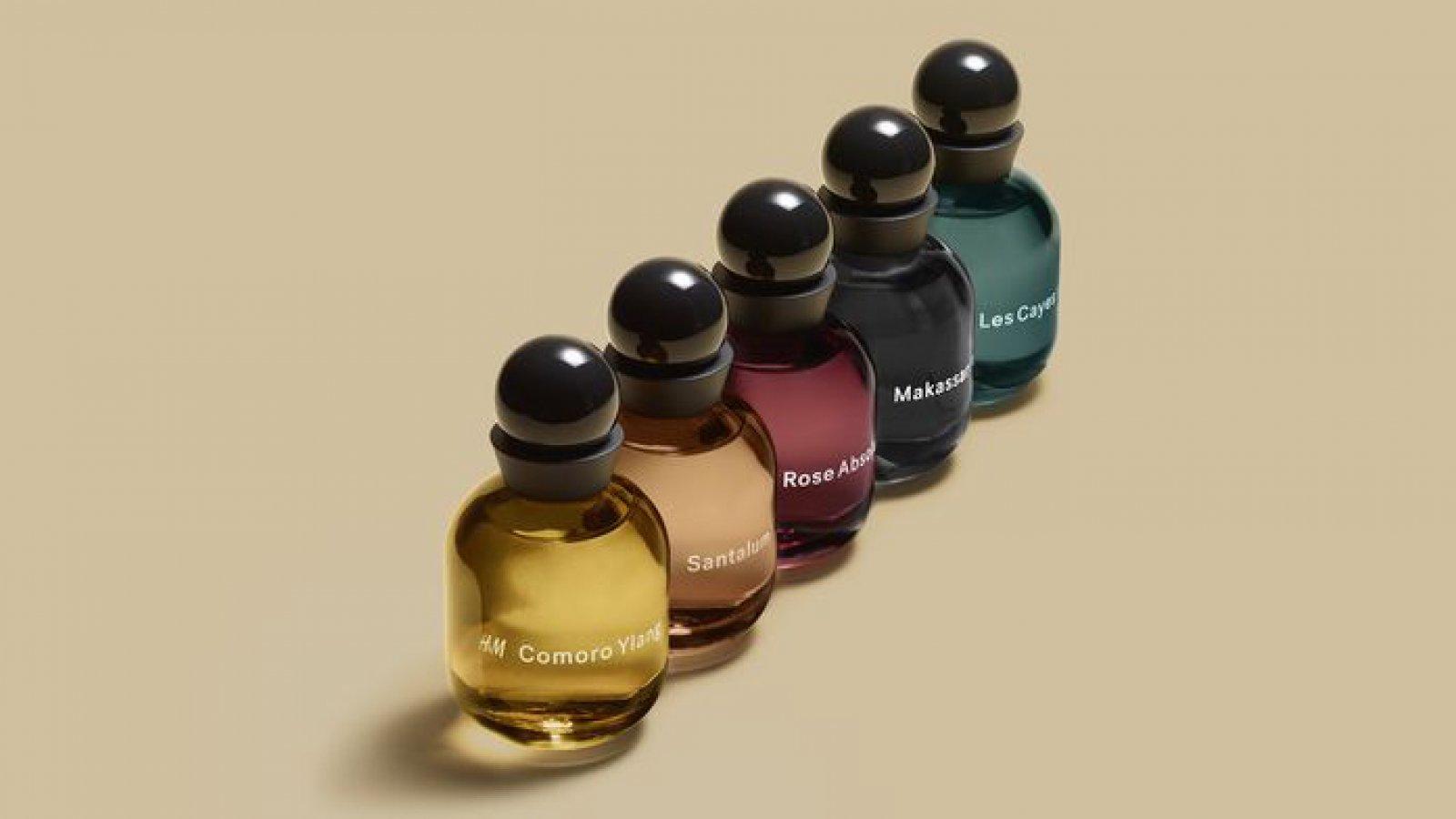 'The Essences' una de las colecciones de fragancias de H&M