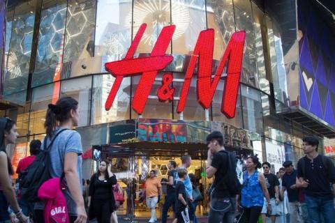 Una de las tiendas de la firma sueca H&M