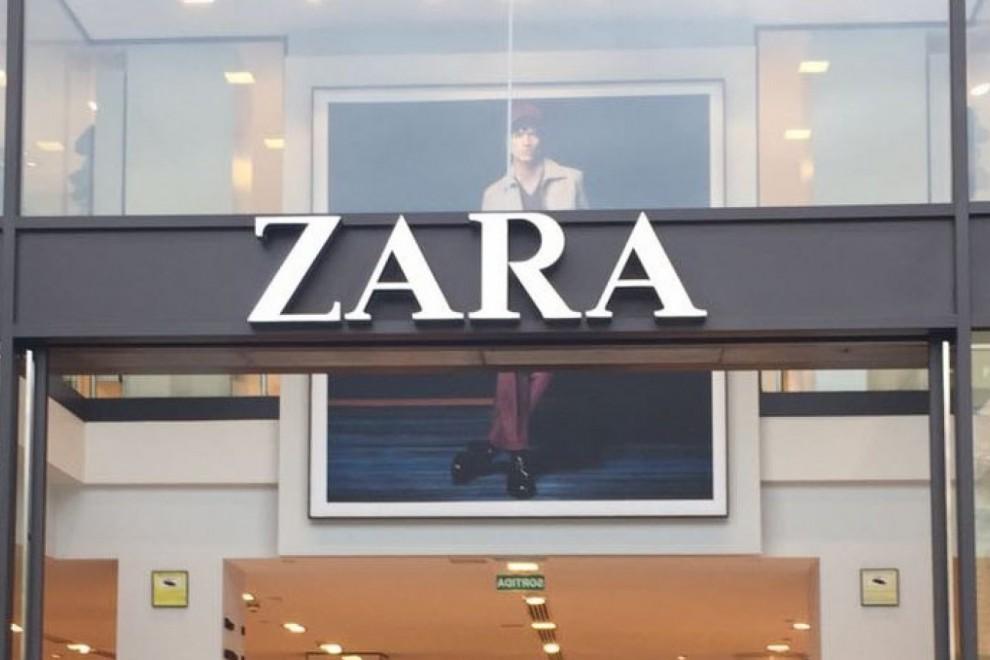 Imagen de archivo de una tienda de Zara
