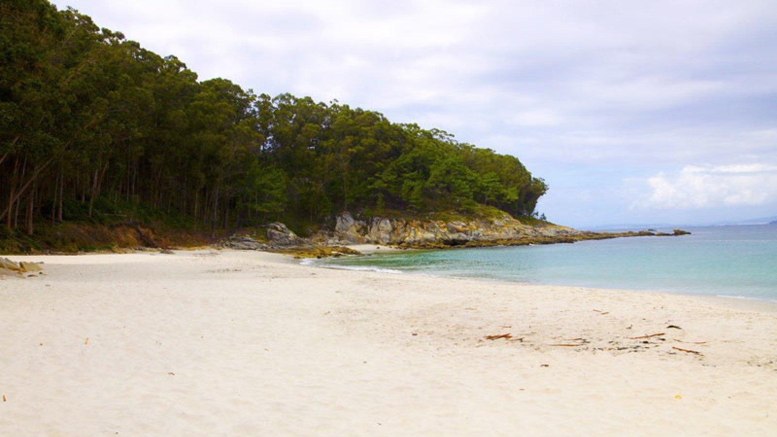 En las Islas Cíes se encuentra este espacio naturista.