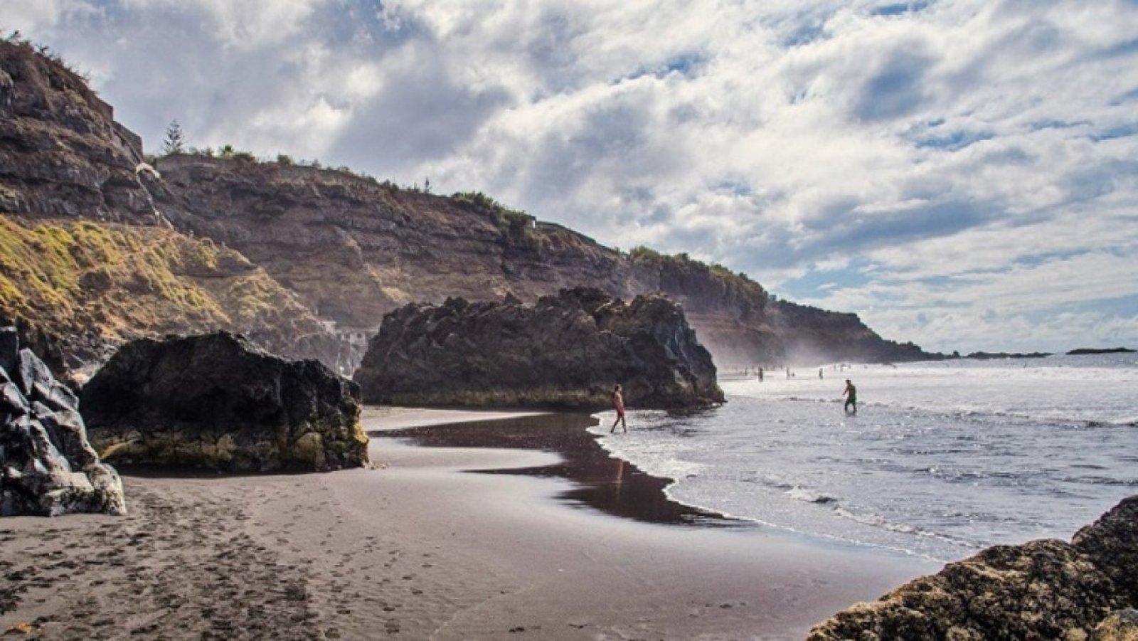 La conocida como Playa de los patos, en Tenerife.